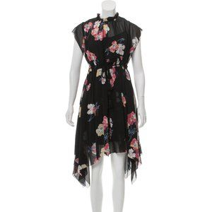 Ulla Johnson Silk Midi Dress, Size M/L